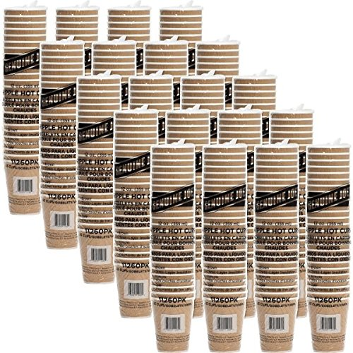 Corrugated Cup (Genuine Joe Prootective Corrugated Hot Cups (500 Cups))