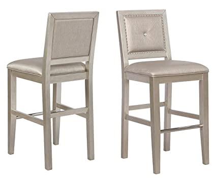 Excellent Amazon Com Coaster Home Furnishings Upholstered Bar Stools Gmtry Best Dining Table And Chair Ideas Images Gmtryco