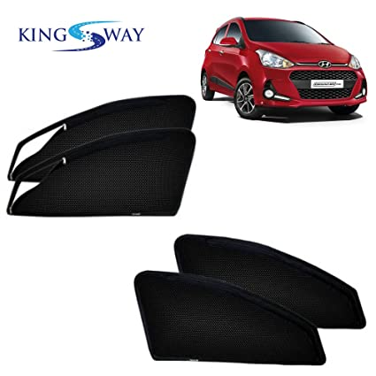 Kingsway kkmmsszp00098 Magnetic Sun Shades for Hyundai Grand i10 (Pack of  4 8a27e0bd293