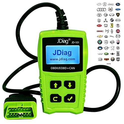 If you are looking for a good basic or DIYer obd2 scan tool then JDIAG 101 can be of great help