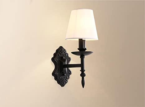 Led moderno ferro singolo doppio lampada da parete lampade a