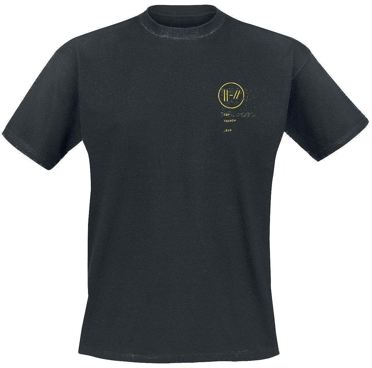 Twenty One Pilots Bandito Circle Camiseta Ceniza/Negro: Amazon.es: Ropa y accesorios