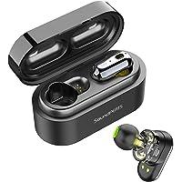 Auriculares Inalámbricos Bluetooth 5.0 TWS SoundPEATS Truengine Mini True Wireless Cascos IPX6 con Micrófono Dual Drivers Audífonos In-Ear Manos Libres para iPhone, Android, TV y PC
