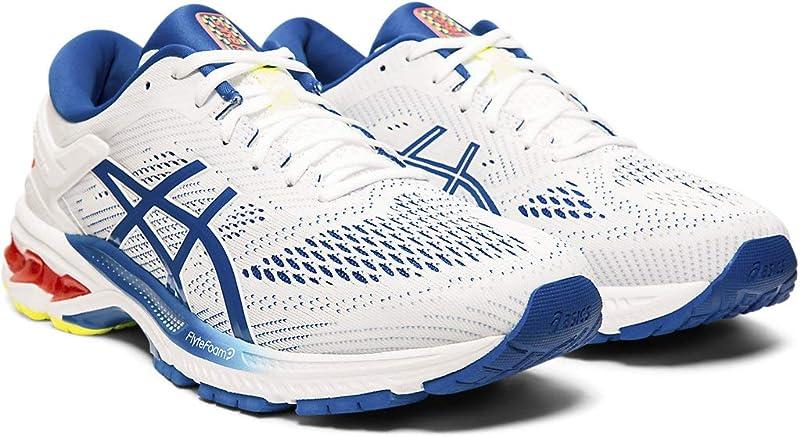 ASICS Gel-Kayano 26 Sneakers Herren Weiß/Blau