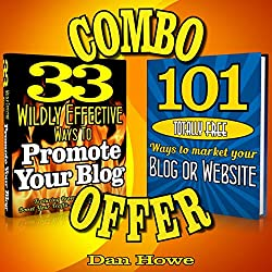 2 for 1 Blog & Website Promotion Combo Deal