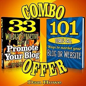 2 for 1 Blog & Website Promotion Combo Deal Audiobook