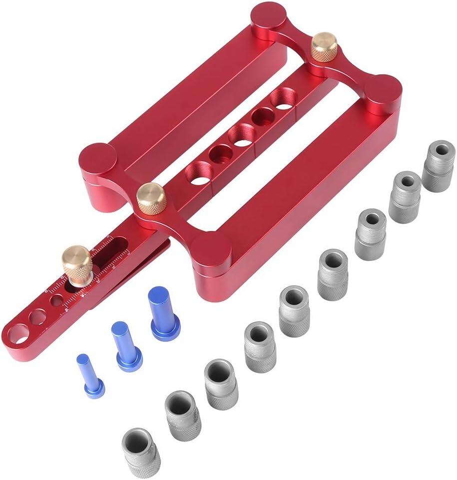 펀치 로케이터-드릴 가이드 6 | 8 | 10MM 우드 다웰 홀 드릴링 가이드 목공 포지셔너 로케이터 도구