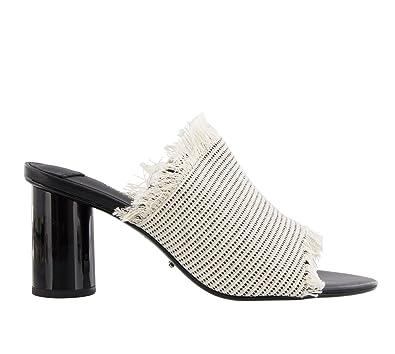 a856bbf2b92 Tony Bianco Bacardi Womens Mules Shoes Open Toe with Polished Cylinder Heels  (5