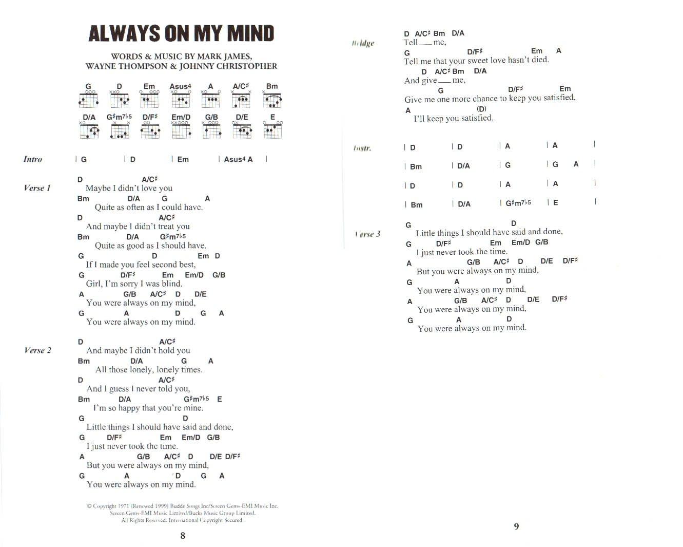 The Little Black Songbook - Country (para guitarra con textos y ...