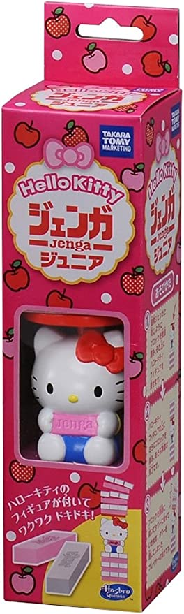 Hello Kitty Jenga Junior (japan import): Amazon.es: Juguetes y juegos
