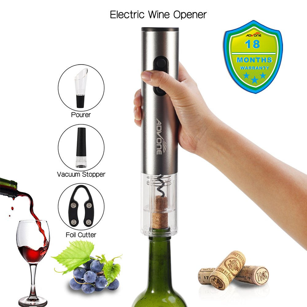Watch An electric wine opener that makes drinking wine even better video