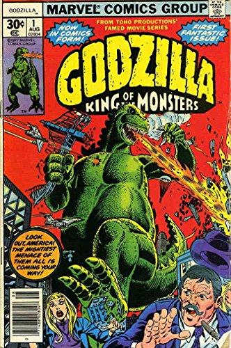 Godzilla #1 GD ; Marvel comic book