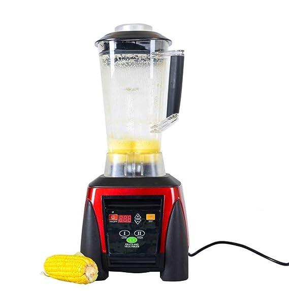 ZXMXY Batidora de la máquina del exprimidor de Las Cuchillas del Acero Inoxidable 2L Licuadora de Alta Velocidad (Edición : 220V): Amazon.es