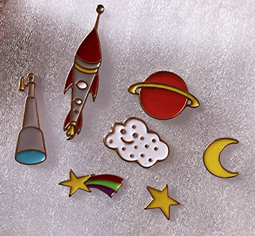 Price comparison product image Duo s of the universe alien planet universe series drip collar pin badge brooch decorated