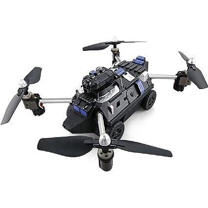 MCJL Drone de Aire, Cuatro Ejes de Aviones de Control Remoto WiFi ...
