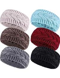 Warning Symbol Cartoon Pattern Winter Earmuffs Ear Warmers Faux Fur Foldable Plush Outdoor Gift