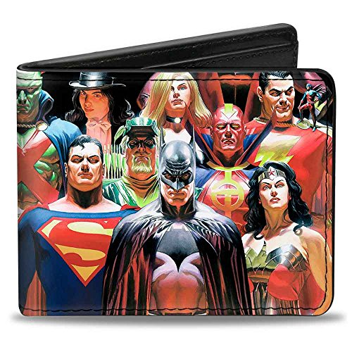 Bi-Fold Wallet - Justice League Justice #1 Volume 1 18-Character Cover Pose