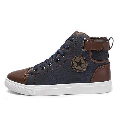 f3ecfd2e21b7f Schuhe Herren Sportschuhe Sneaker Running Wanderschuhe Outdoorschuhe Boots  Stiefel Milktea Männer Ankle Boot Arbeitsschuhe Casual High-Cut Adult  Walking ...