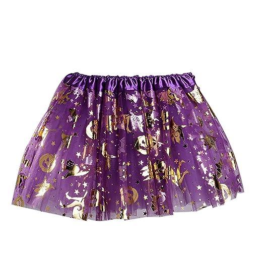 Rocita - Falda de tutú para niños y niñas con Purpurina Negra con ...