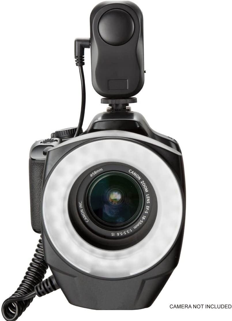 Includes Multi-Interface Adapter Sony HDR-PJ670 Dual Macro LED Ring Light
