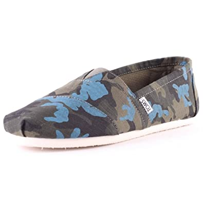 74e21a1333236 TOMS Seasonal Classics Camo Ripstop Mens Shoes: Amazon.co.uk: Shoes & Bags