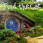 Cat Books Piccadilly Find the Cat Puzzle Book | Picture Hunt Game Book for Adults & Children | 100 pages