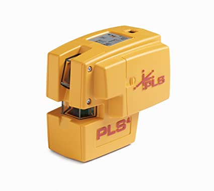 Amazon.com: PLS 4 Red Cross Line Laser Level with Plumb, Bob and ...