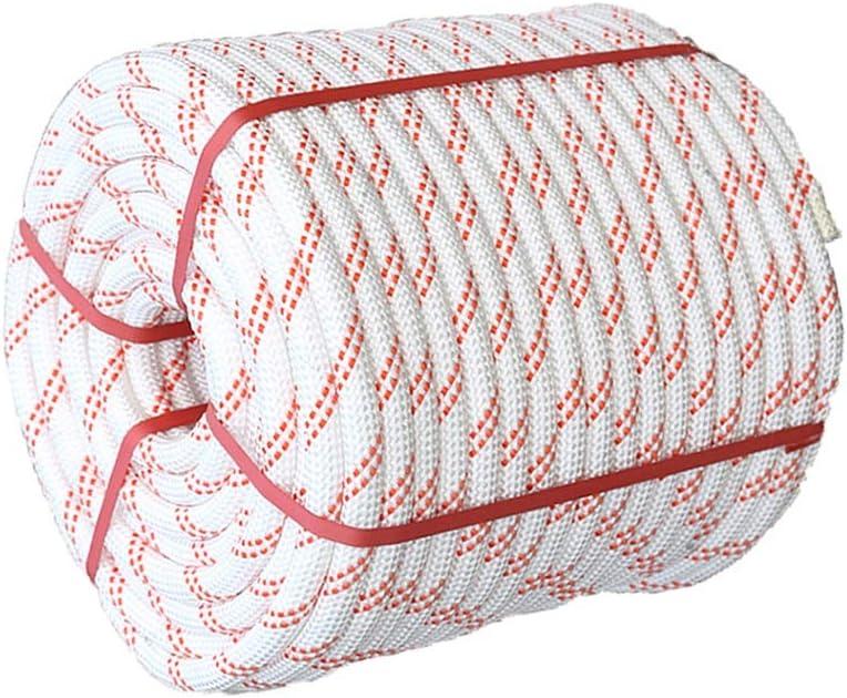 LIINA ロープ 空中作業ロープ屋外登山安全ロープ厚さ14mm-10m / 30m / 60m / 70m / 80m / 100m (Size : 100m)  100m