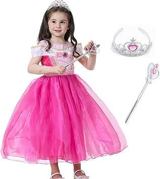 Princesa Bella Cenicienta Aurora Fancy Dress para niñas Disfraces ...