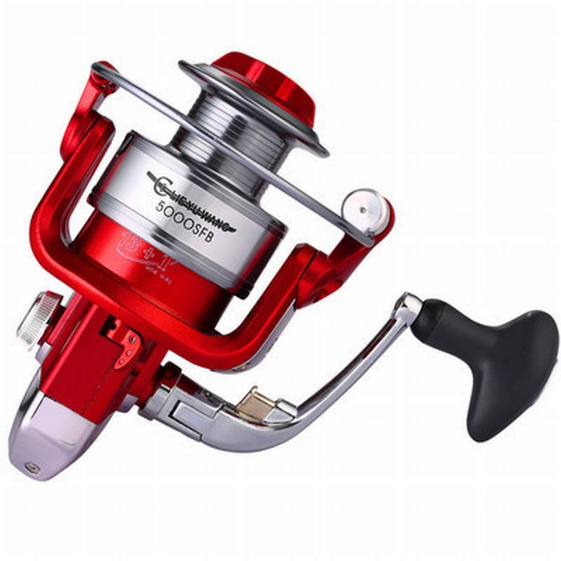 1000 Sinngukaba Spinning Fishing Reel 1000 to 7000 High Capacity Left Right Interchangeable Spinning Reels Saltwater Freshwater Fishing (Specification   1000)