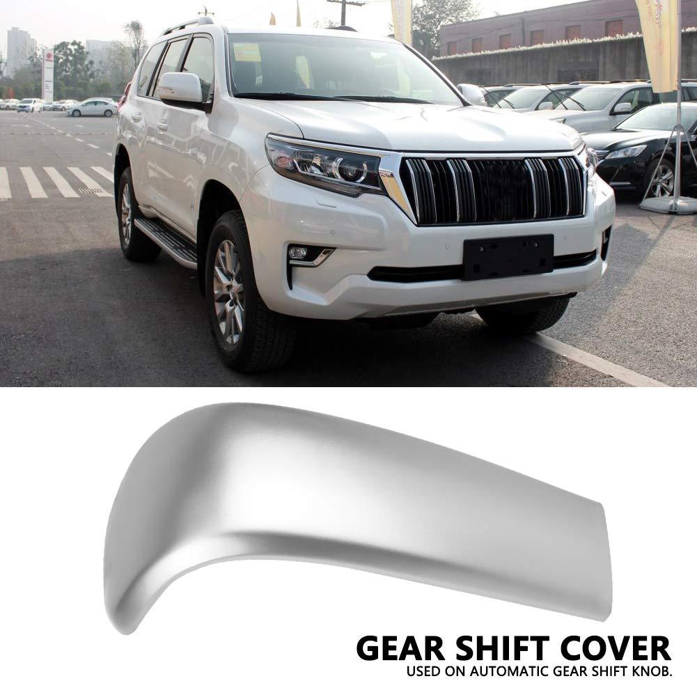 KIMISS Car Center Gear Shift Knob Cover Trim Chrome for Toyota Land Cruiser Prado J150 2010-2017