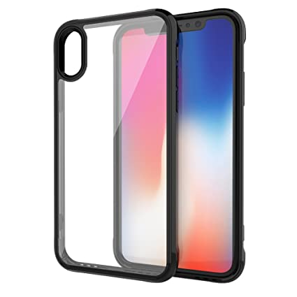 Amazon.com: iPhone X funda, Ultra Slim Delgado vidrio ...
