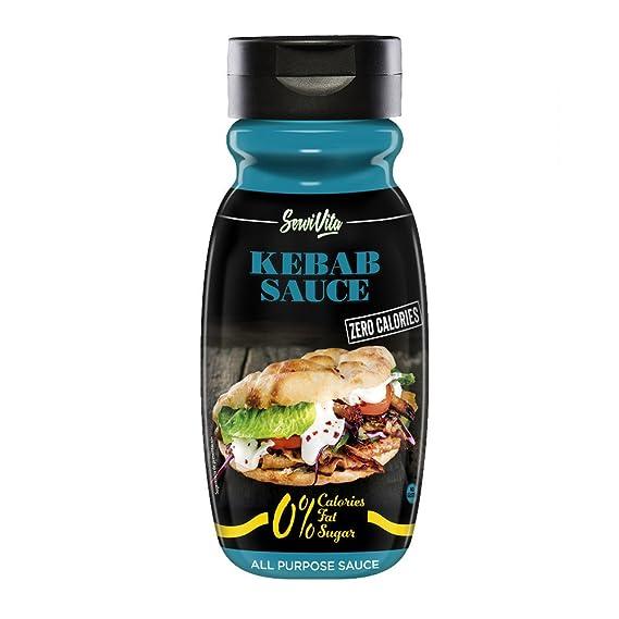 Servivita Salsa Kebab sin Calorias 320 ml: Amazon.es: Salud y cuidado personal