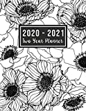 2020-2021 Two Year Planner: 2020-2021 see it bigger planner | Monthly Schedule Organizer - Agenda Planner For The Next Two Years, 24 Months Calendar, ... for mom (2 year monthly planner 2020-2021)