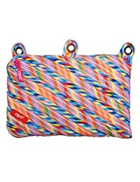 ZIPIT Colorz 3-Ring Pencil Case, Stripes