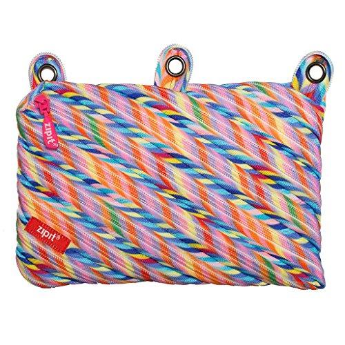 3 Ring Pencil Pouch - ZIPIT Colorz 3-Ring Pencil Case, Stripes