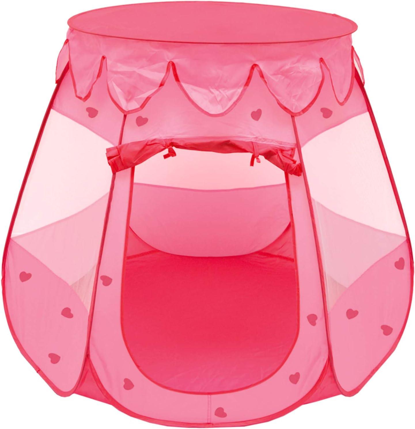 LittleTom Tienda de campaña Juguete para niña 120x120x90cm Piscina ...