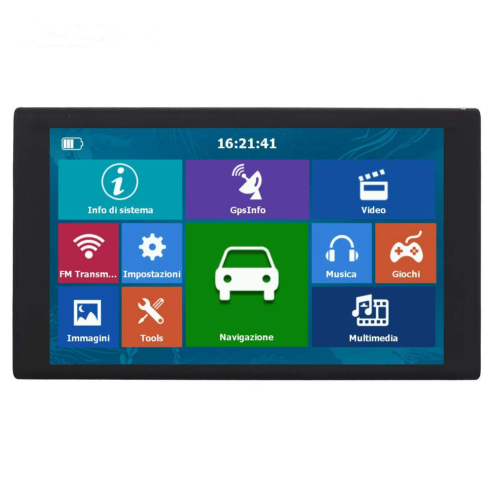 OUYAWEI Portable GPS Navigator 256MB+8G HD 9 inch Capacitive Touch Screen S900 Southeast Asia map by OUYAWEI