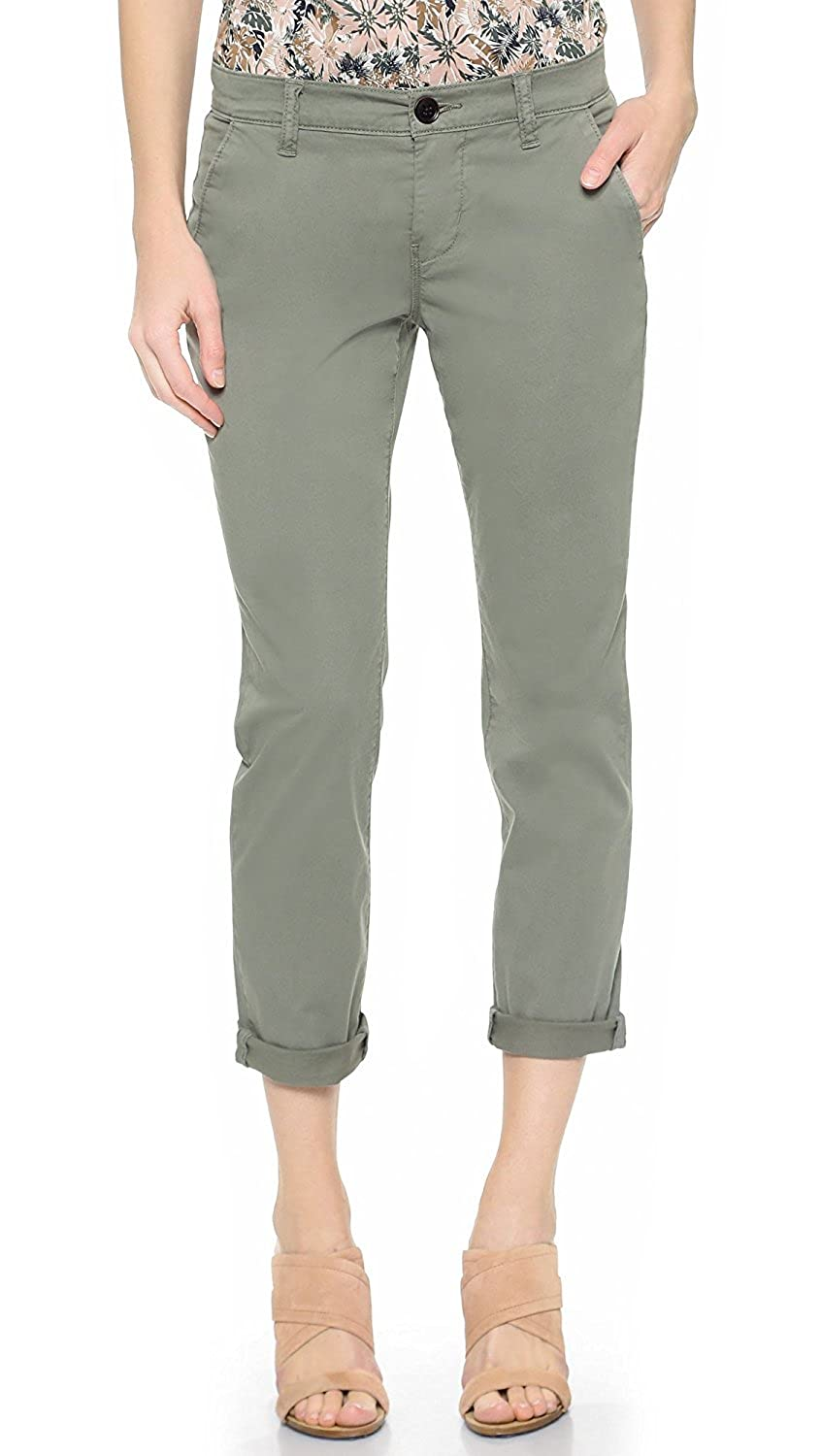 J Brand Women's Alex Slim Chinos Tarmac 27