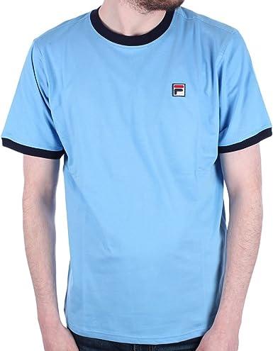 Fila - Camiseta - para hombre Azul Blues Taille unique: Amazon.es: Ropa y accesorios