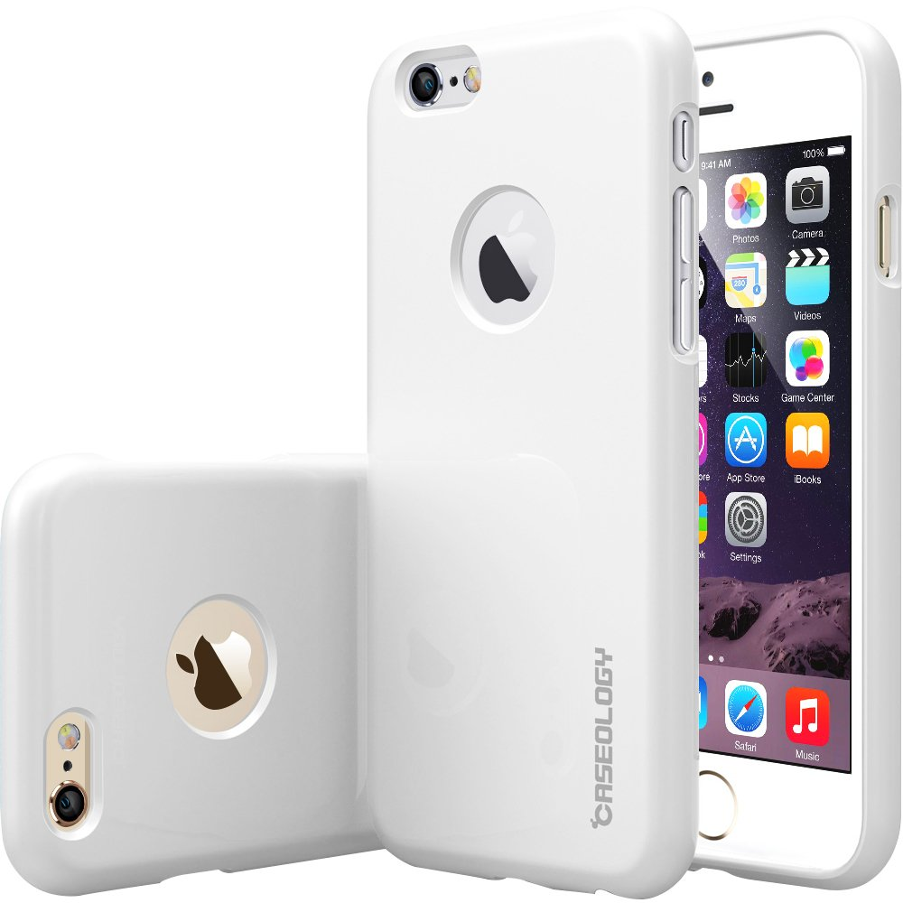 Caseology Daybreak for iPhone 6S Case (2015) / iPhone 6 Case (2014) - Shock Absorbent - White