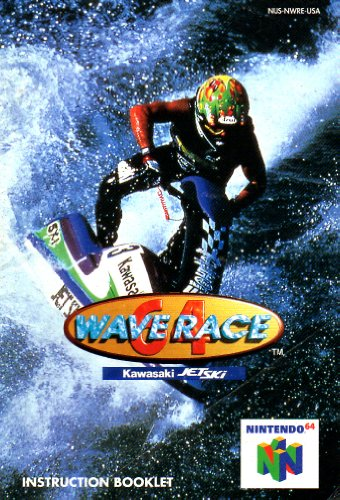 Wave Race 64 N64 Instruction Booklet (Nintendo 64 Manual Only - NO GAME) [Pamphlet only - NO GAME INCLUDED] Nintendo