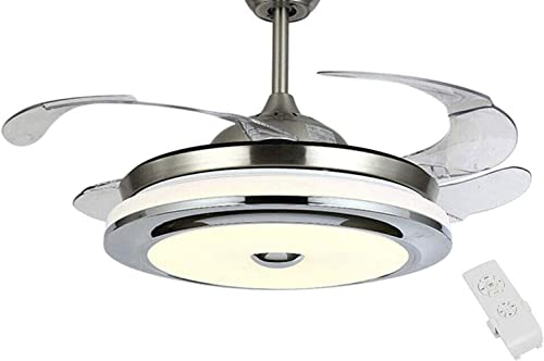 Modern Retractable Ceiling Fan