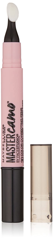 Maybelline New York Master Camo Color Correcting Pen, Pink For Dullness, light, 0.05 fl. oz.
