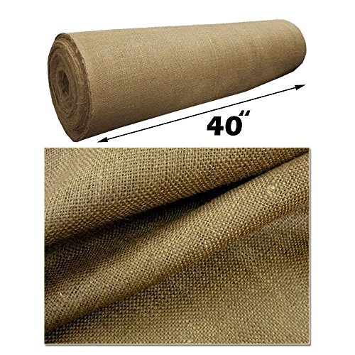 5 yard roll 10 oz burlap premium natural vintage jute fabric 40 inches wide upholstery mybecca burlap