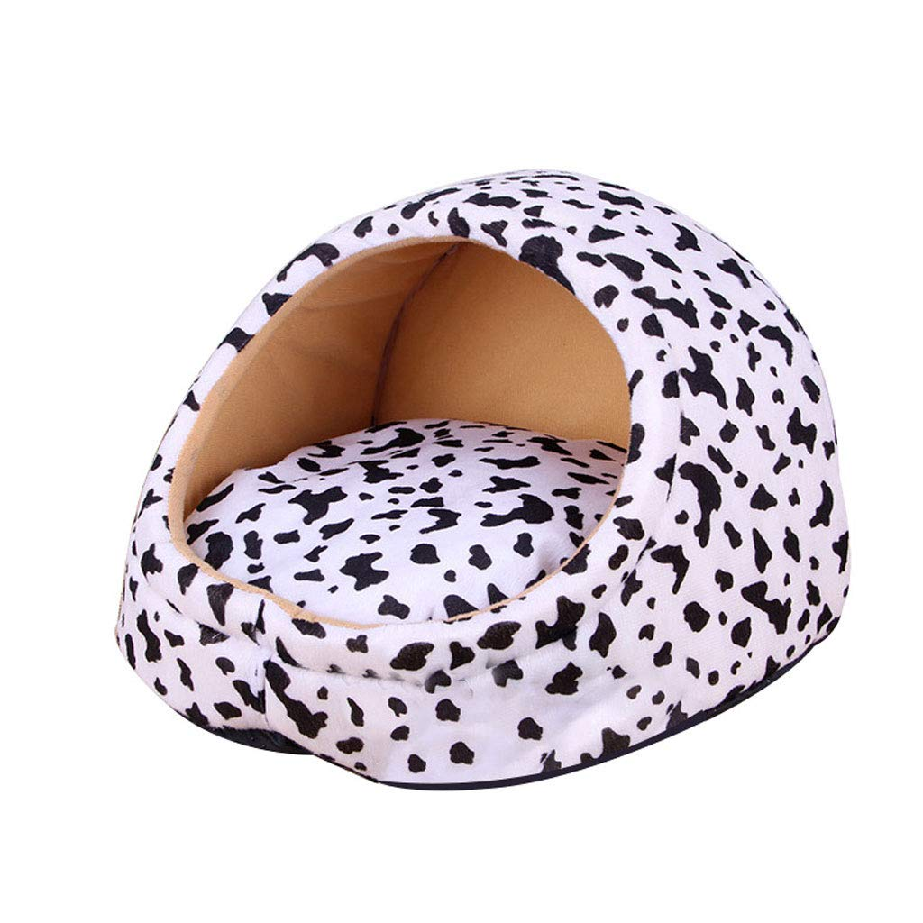C SmallSoft And Warm Dog Bed Room Winter Cat Bed Puppy House Kennel Detachable Puppy Cushion Pet Kennel Bed (color   A, Size   S)