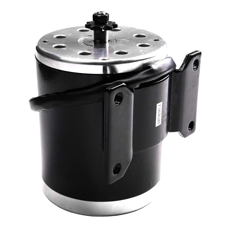 Amazon.com: ZXTDR 24V 500W Brush Electric Motor For Go Kart ...