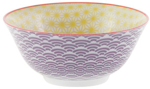 Tokyo Design Studio Starwave Bowl - Yellow/Purple at Amara