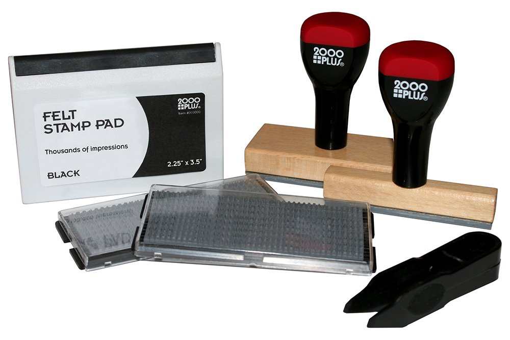 2000Plus Cosco Custom Stamp Kit 2-Line and 7-Line Stamps (030968)