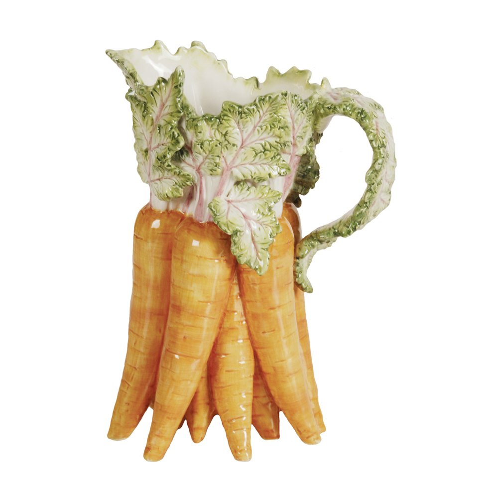Kaldun & Bogle Home Decor French Garden Lapin Carrot Pitcher 2 Pack